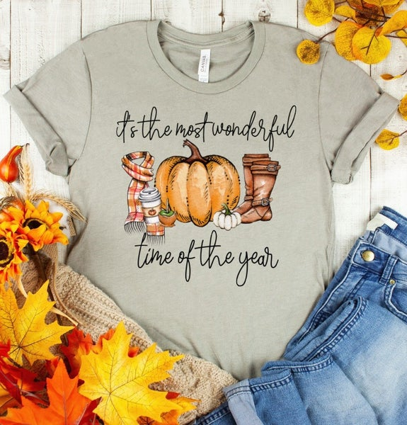 FALL : It's The Most Wonderful Time Of Year Graphic Tee