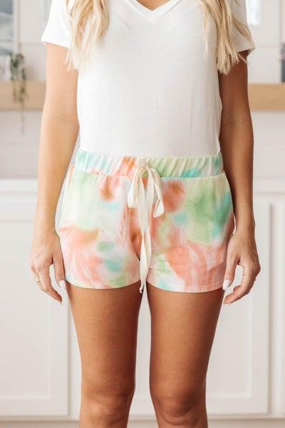 Sherbet Splotches Shorts