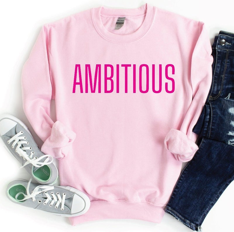 AMBITIOUS  Graphic Pullover
