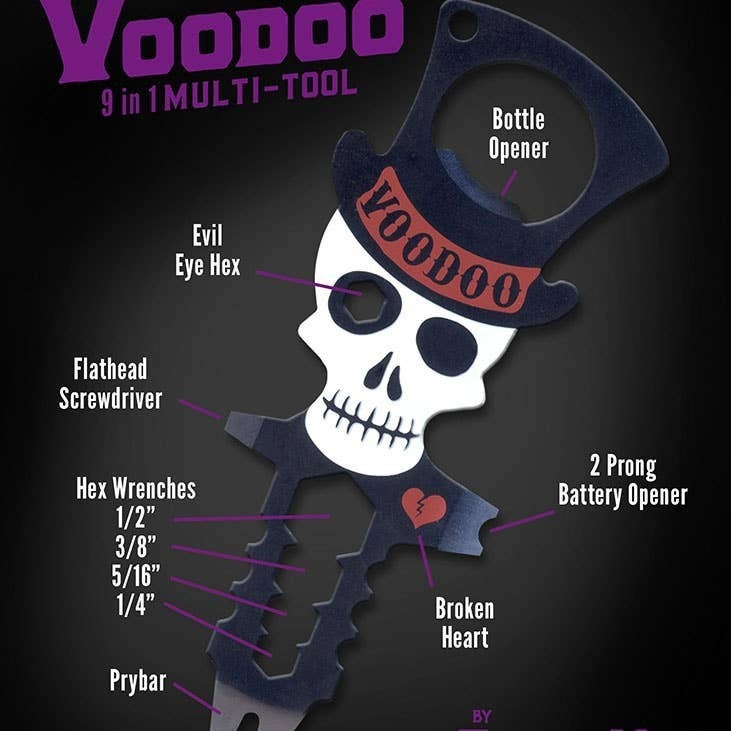 Trixie & Milo - Voodoo Multi-Tool