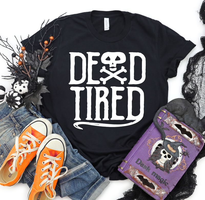 DEAD TIRED Graphic Tee