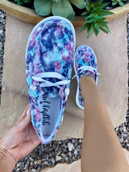 Gypsy Jazz Joan Sneaker in Purple/Pink