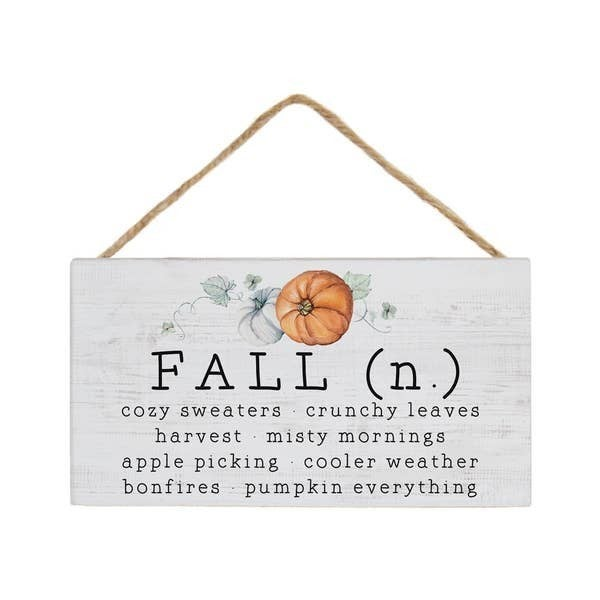 Falliday Home Decor - Hanging Sign