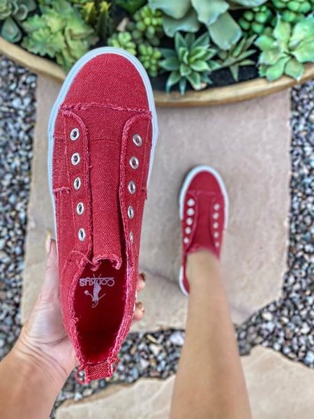 Corkys Blair Red Sneaker