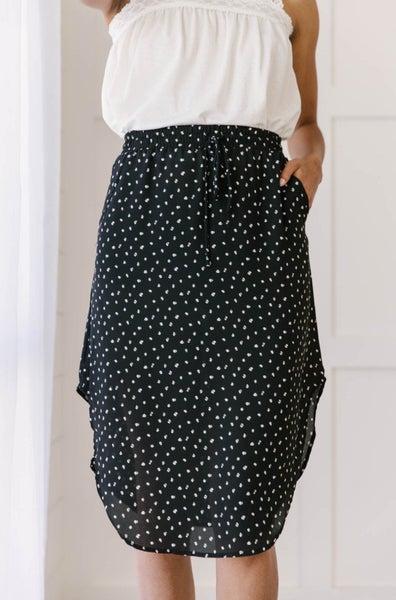 Gentle Breeze Midi Skirt