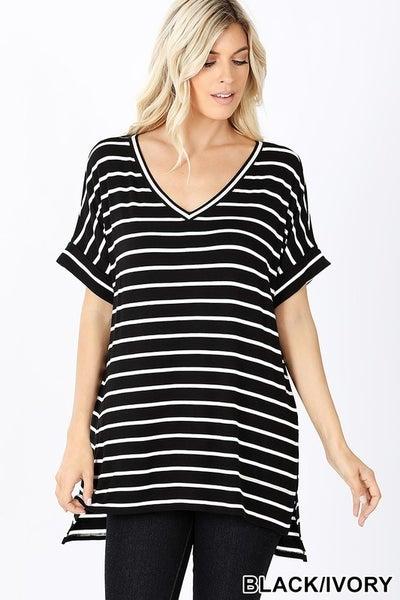 Necessary Striped Tunic