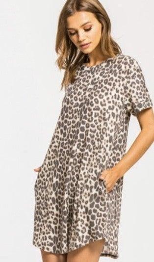 Best Seller Leopard Dress *Final Sale*