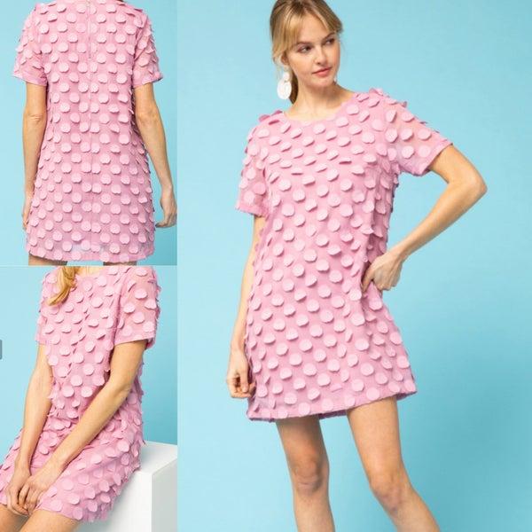 Charlotte Textured Shift Dress *Final Sale*