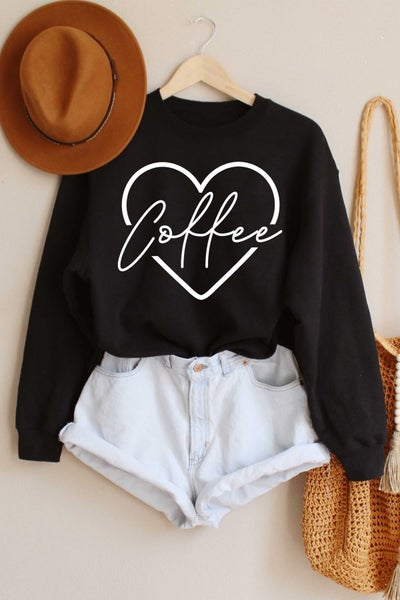 I Heart Coffee Sweatshirt