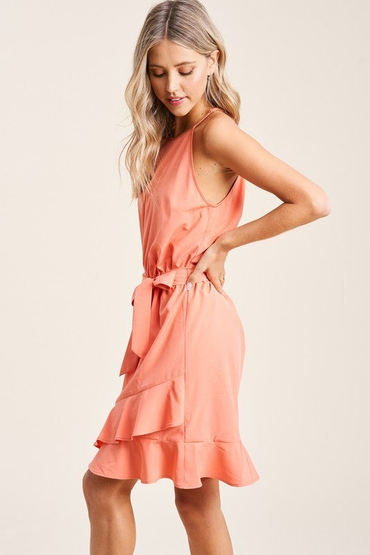 Hadley Halter Neck Dress