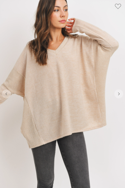 Alma Brushed Knit Top