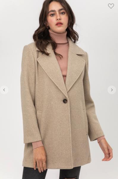 Manhattan Vibes Coat