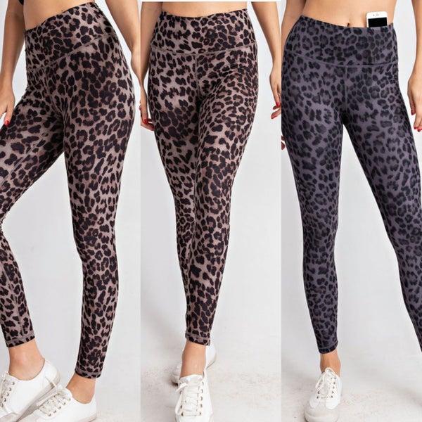 Leopard Butter Leggings