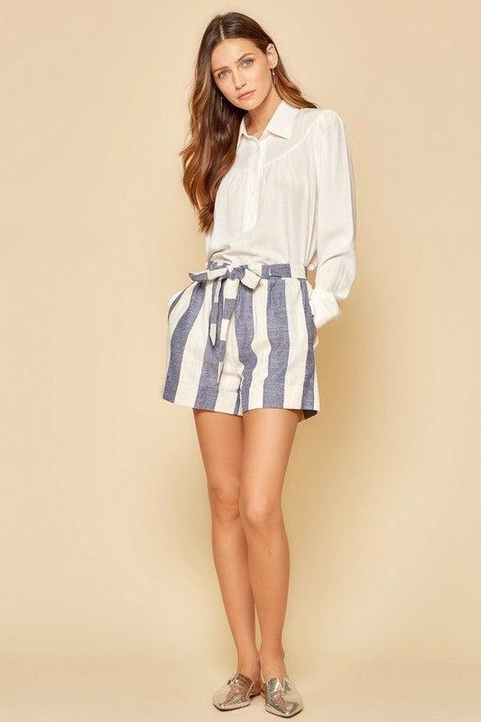 Hampton Striped Shorts