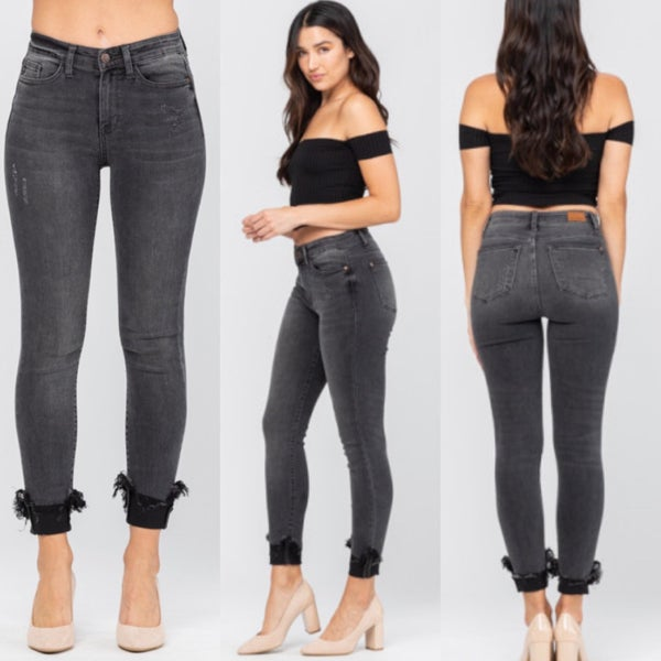 Specialty Gray Judy Blue Jeans