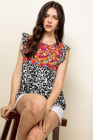 Molly Embroidered Top