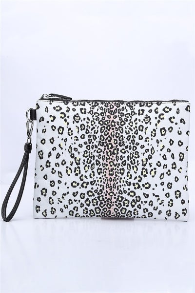Snow Leopard Throw All Pouch