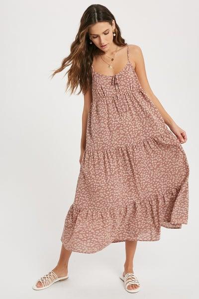 Austin Floral Midi Dress