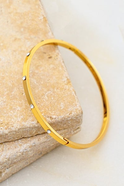 Steph Hinge Bangle