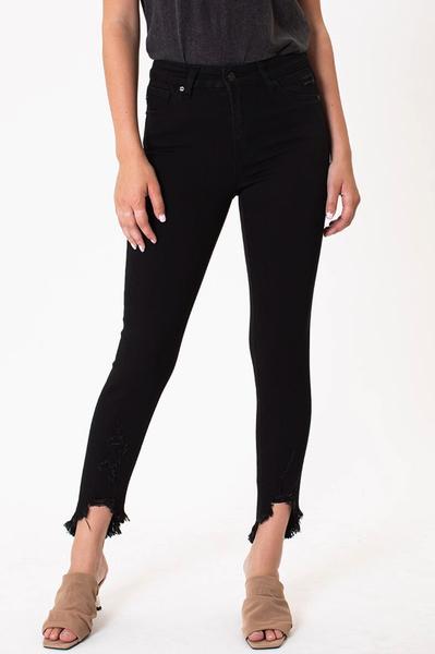 High Rise Black Skinny KanCan Jeans