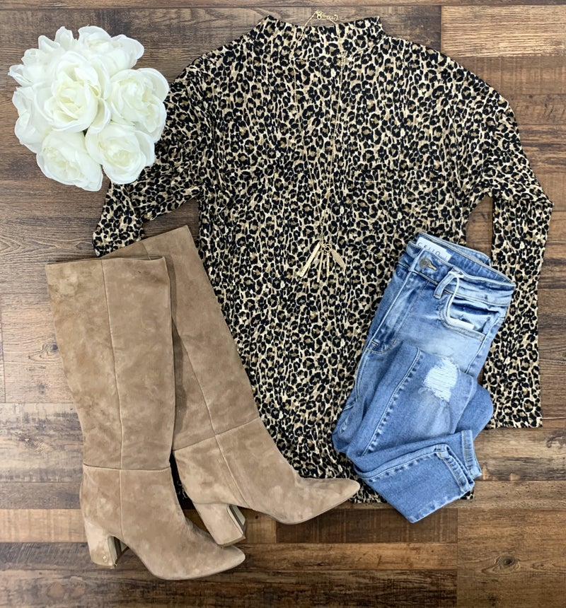 Can't Live Without Leopard Tunic