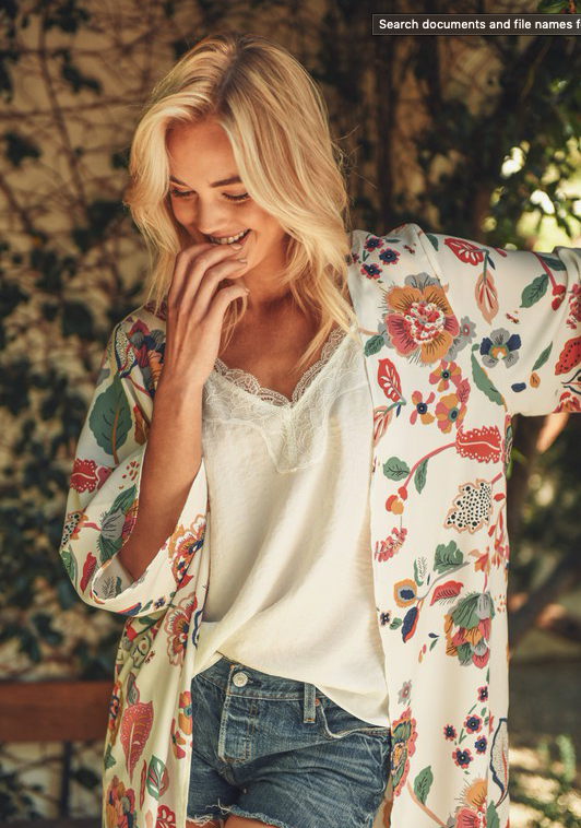 Waverly Kimono