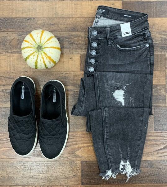 Button Up Judy Blue Jeans