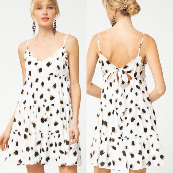Mod Leopard Flirty Dress *Final Sale*