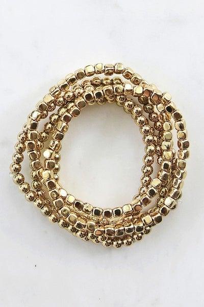 Multi Bead Bracelet Set