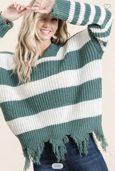 All The Rage Sage Sweater
