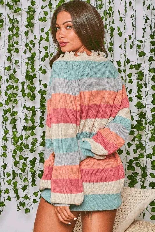 Distressed Mizzou Sweater *Final Sale*