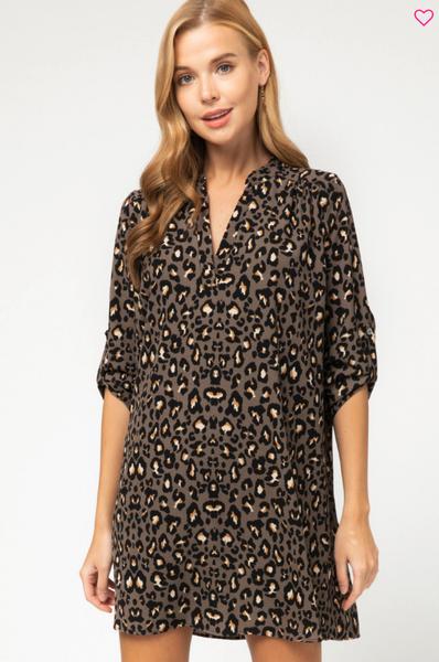 Pam Pam Leopard Dress