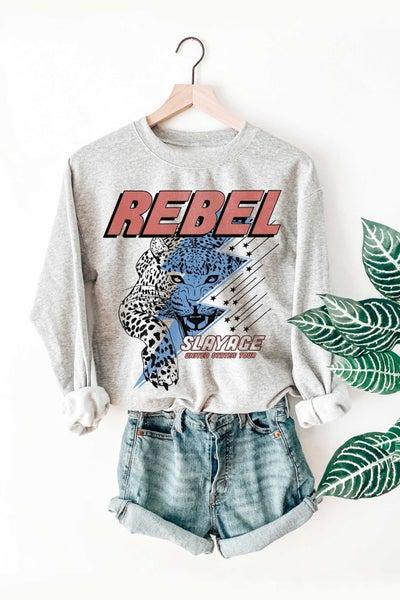 Rebel Leopard Sweatshirt