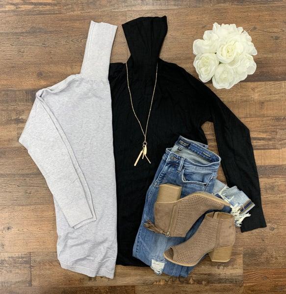 Basic Knit Turtleneck Sweater
