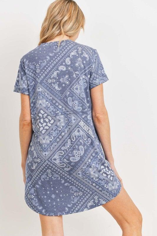 Summer Nights T Shirt Dress