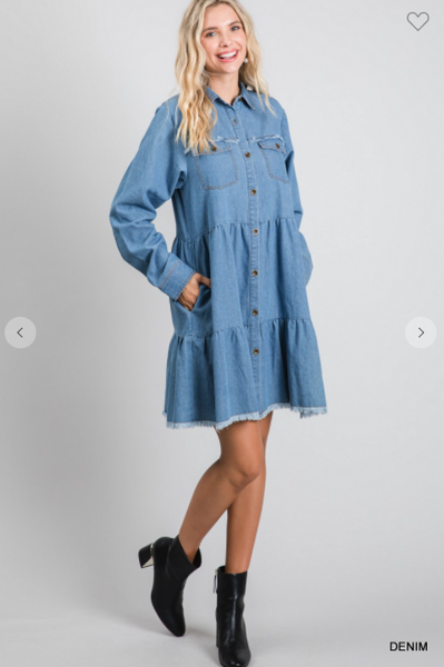 Denim Aiysha Dress