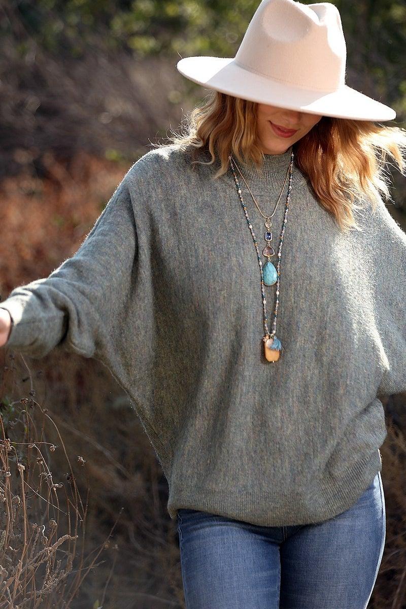 Darci Dolman Sleeve Sweater *Final Sale*