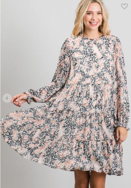 Multi Leopard Dress *Final Sale*