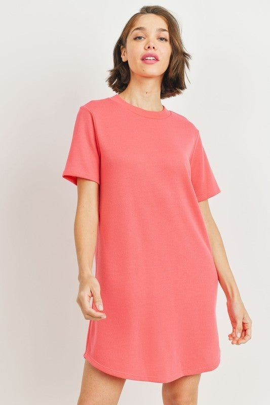 Round Neck Monica Dress