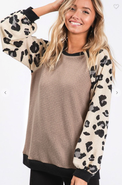 Snow Leopard Thermal Top