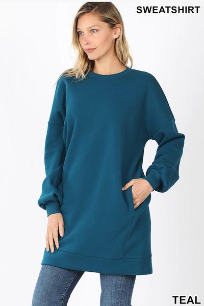 Classic Sweatshirt Dress *Final Sale*