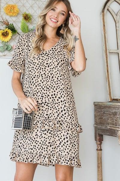 Kim Ruffle Detail Dress