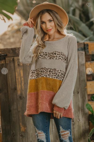 Chenille Sara Sweater