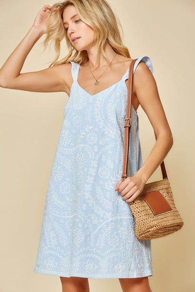 Acklin Embroidered Dress