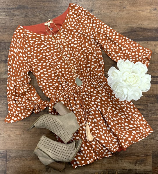 Austin Polka Dot Romper *Final Sale*