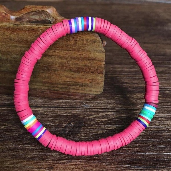 Colors of the Rainbow Bracelet