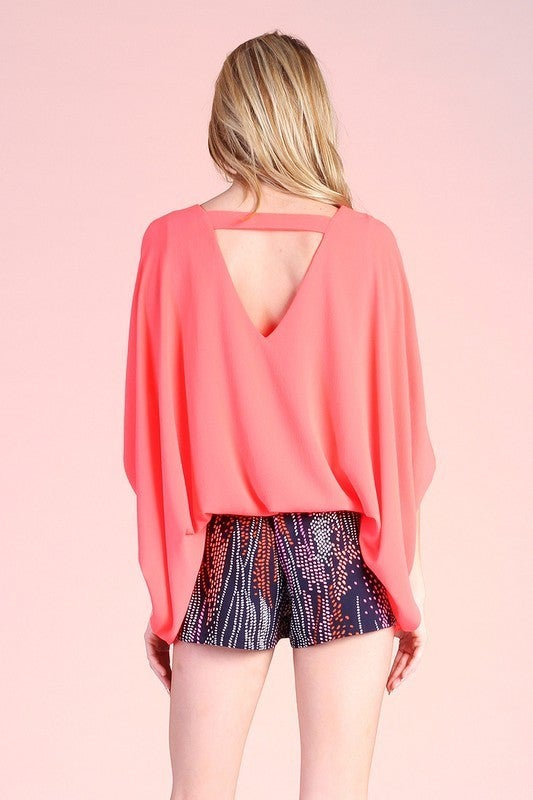 St. Lucia Back Band Top