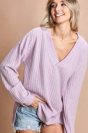 Ribbed Basic Sweater