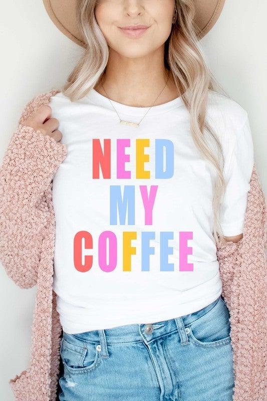 Need Coffee Tee