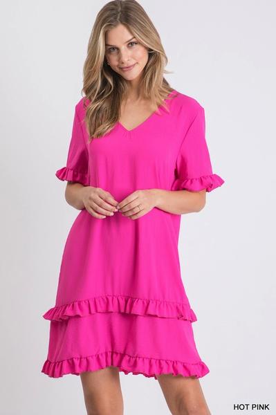 Double Ruffle Dress *Final Sale*